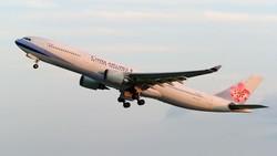 China Airlines Tawarkan Sensasi Naik Pesawat Tanpa Terbang
