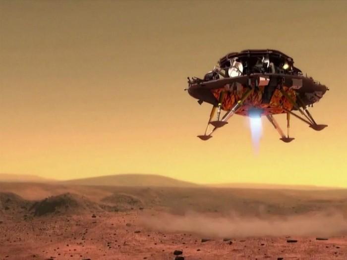 China luncurkan roket penjelajah ke Mars, akankah susul kesuksesan Amerika?