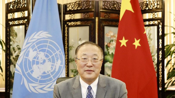 Duta Besar China Zhang Jun (Dok. China Mission to UN)