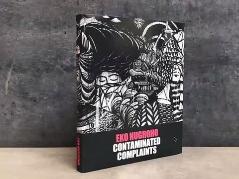 Eko Nugroho Rilis Buku Monograf Kedua via Daring