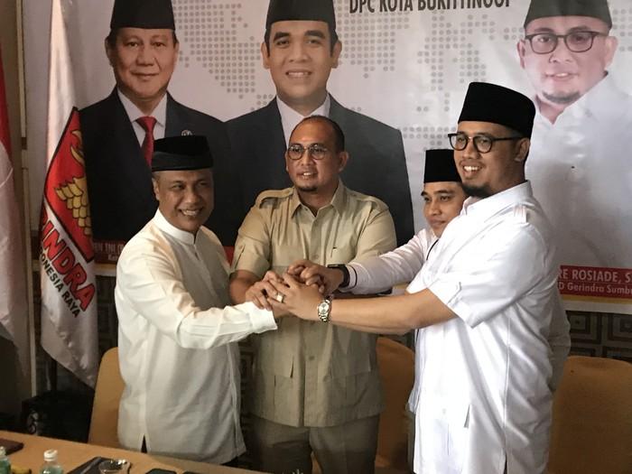 Gerindra-PKS koalisi di Pilkada Bukittinggi (Jeka Kampai-detikcom)