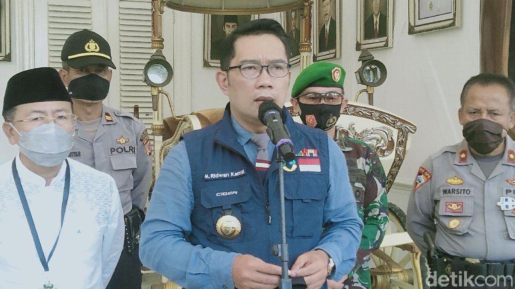 20 Massa HRS Positif Corona di Bogor, Ridwan Kamil: Tes Terus Dilakukan