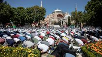 500 Jemaah Tertular Corona dari Klaster Hagia Sophia