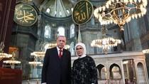 Salat Jumat Pertama Setelah 86 Tahun di Hagia Sophia, Paus Fransiskus Diundang