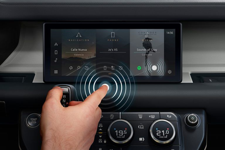 Jaguar Land Rover contactless