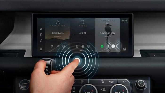 Jaguar Land Rover contactless