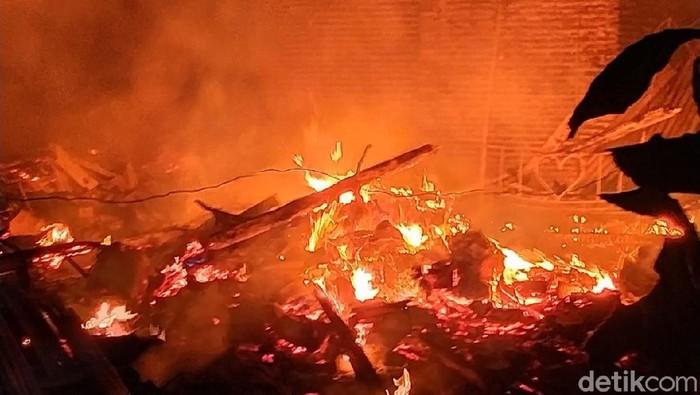 kebakaran di Situbondo