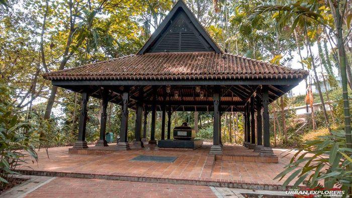 Makam Raja terakhir Singapura.