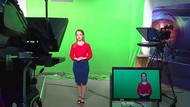 Perawat Viral Karena Pakai APD Menerawang Kini Jadi Presenter Ramalan Cuaca