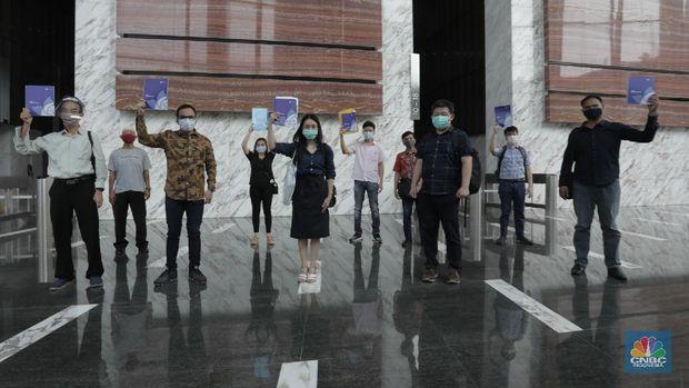Nasabah Korban Gagal Bayar PT. Asuransi Jiwa Kresna (Cnbc Indonesia/ Tri Susilo)