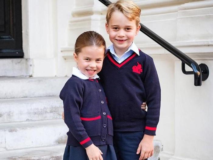 Pangeran George dan Purtri Charlotte