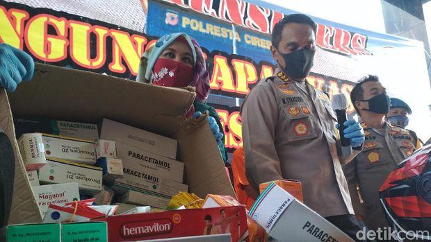Pembobol Apotek di Cirebon