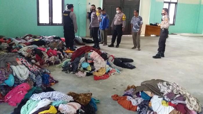 Pria di Kalteng mencuri ribuan pakaian dalam wanita.