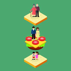 Kisah Generasi Sandwich, Belasan Tahun Beri Sebagian Gaji untuk Ortu & Adik