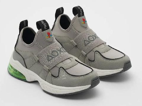 Sneakers Zara x Sony Playstation