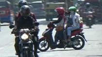 Takut Kena Razia, Banyak Pemotor Balik Arah di Purwakarta