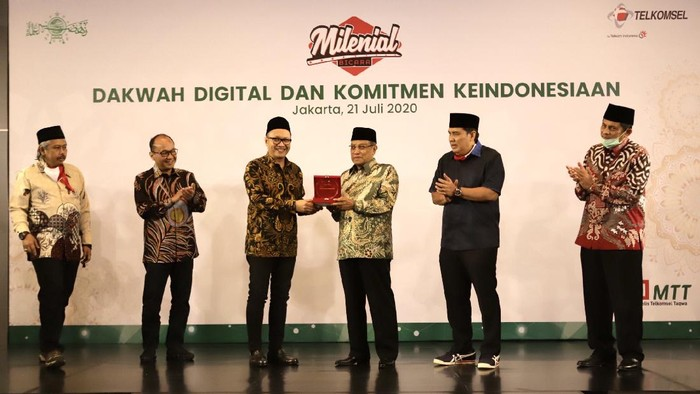 Telkomsel dan Pengurus Besar Nahdlatul Ulama (PBNU) menjalin kerja sama dalam penyiaran agama melalui pendekatan teknologi.