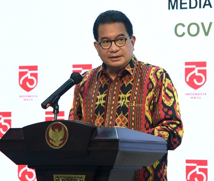 Juru Bicara Satuan Tugas Penanganan COVID-19 Prof Wiku Adisasmito