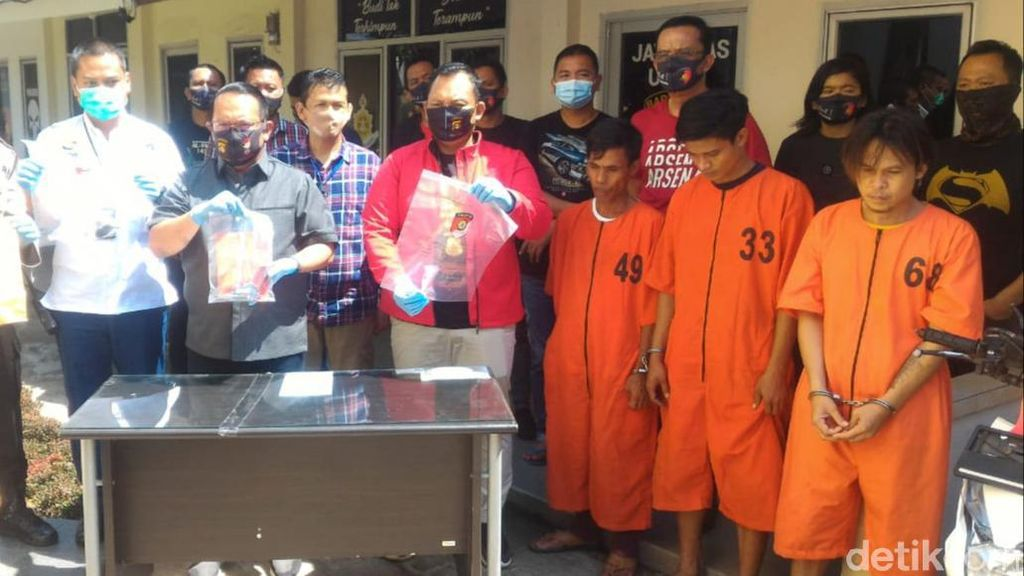 3 Penembak Warga di Palembang Ditangkap, Motif Tagih Utang Sabu ke Keluarga