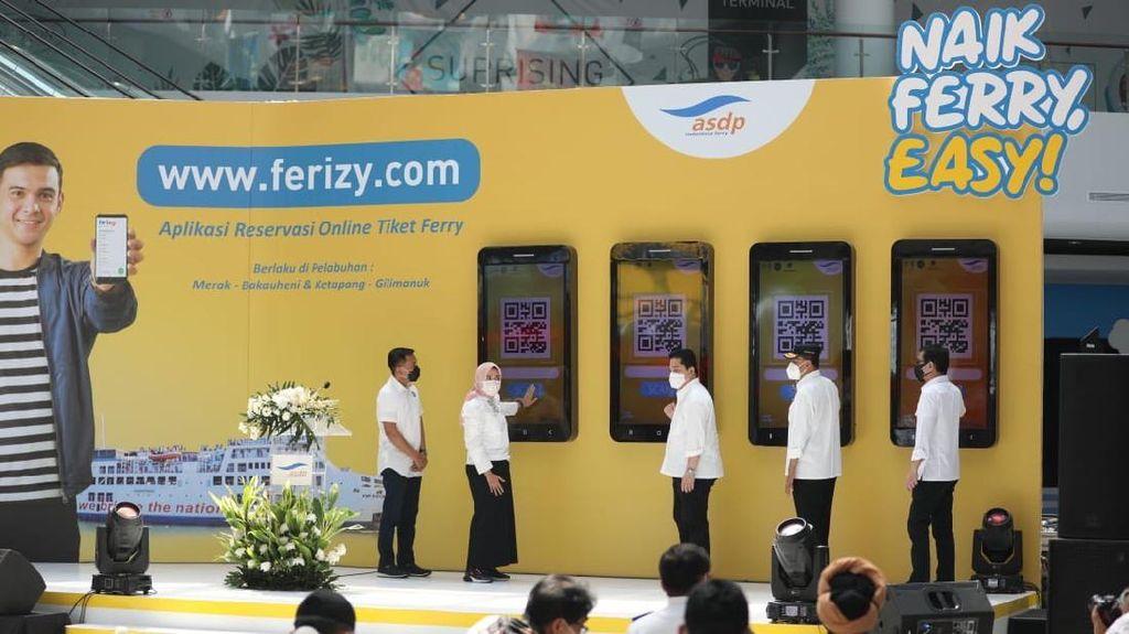 Digitalisasi ASDP, Pemerintah Resmikan Layanan Tiket Online Ferizy