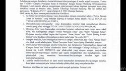 Heboh Video Hoaks Ritual Sekte Pemuja Setan di Itenas Bandung