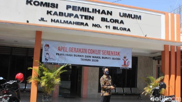 Kantor KPU Blora, Jawa Tengah.