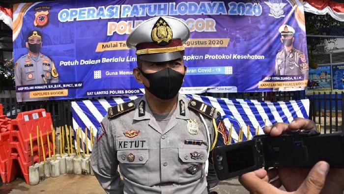 KBO Lantas Polres Bogor Iptu Ketut