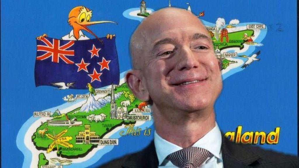 Kekayaan Bos Amazon Sudah Hampir Sama dengan Pendapatan Selandia Baru