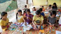 Filantropis Jerman Sekolahkan Anak-anak Kurang Mampu di Lombok