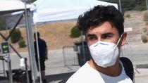 Repsol Honda: Pelat Lengan Marquez Patah karena Membuka Jendela