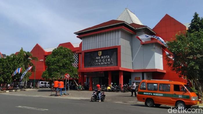 Pasar Kota Wonogiri, Sabtu (25/7/2020).
