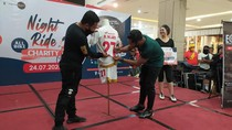 Pemain PSM Lelang Jersey untuk Korban Banjir Masamba