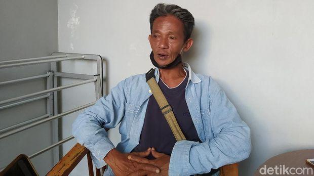 Putra sastrawan Ajip Rosidi, Nundang Rundagi, Sabtu (25/7/2020).