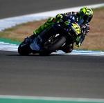 MotoGP Ceko: Vinales Selamat dari Cedera, Rossi Kesulitan