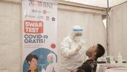 BNI Lanjutkan Program 30.000 Swab Test Gratis di Pulau Kalimantan