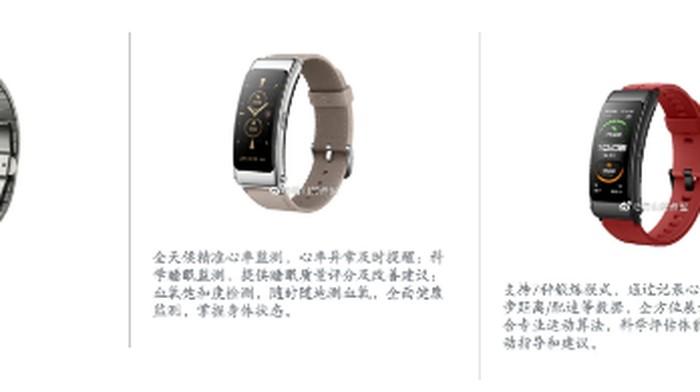 Bocoran Huawei Talkband B6, Ada 4 Varian Warna