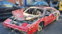 Hilang Dicuri Selama 30 Tahun, Ferrari Ini Ditemukan Tenggelam di Dasar Sungai