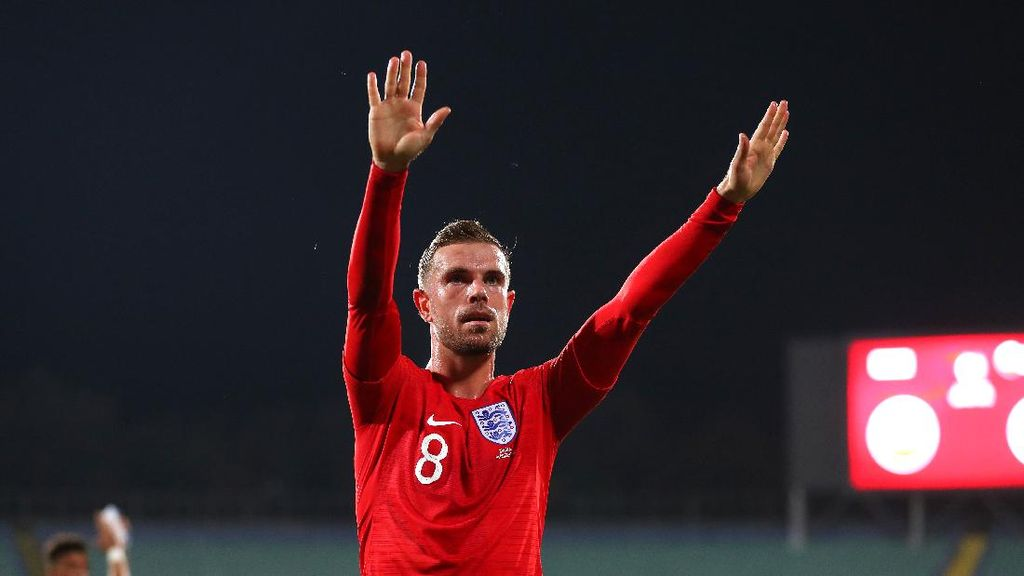 Sukses di Liverpool, Henderson Kini Bidik Kejayaan di Timnas Inggris