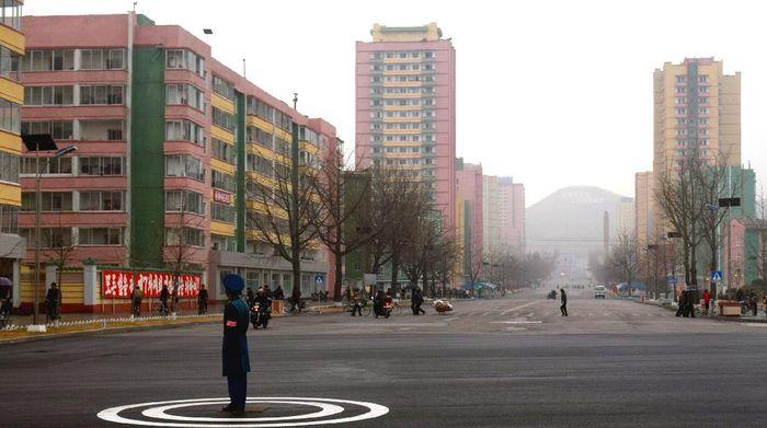 Kota di Korea Utara.