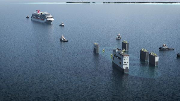 Ya, Boskalis mengoperasikan armada kapal pengangkut berat semi-submersible khusus terbesar (SSHTV) di dunia. HTV adalah kapal khusus yang digunakan dalam sejumlah pekerjaan di lepas pantai tertentu, seperti pengangkutan rig pengeboran lepas pantai, anjungan produksi minyak, produksi terapung, unit penyimpanan dan pembongkaran (FPSO) dan kargo luar biasa berat lainnya