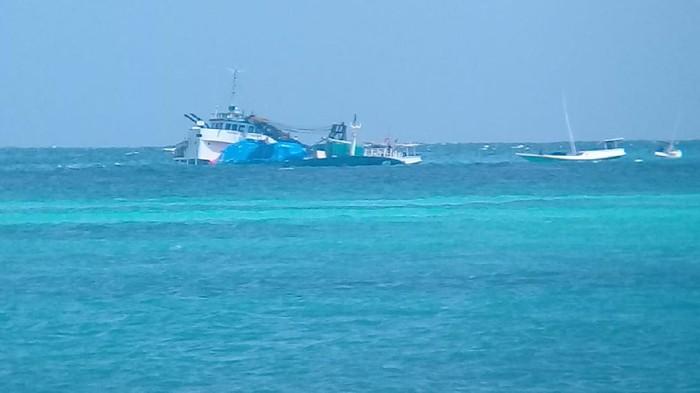 kapal kandas