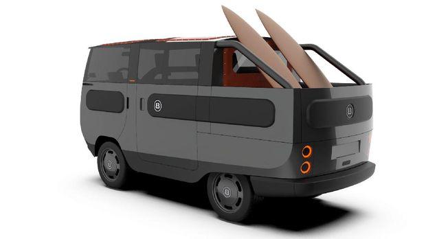 Mobil listrik eBussy