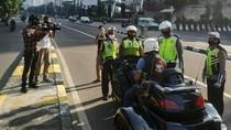 Priiitt! Motor Gede Nyelonong Masuk JLNT Casablanca Ditindak Polisi