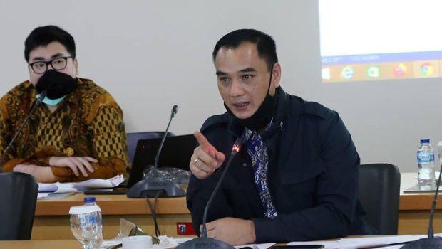 Sekretaris Fraksi Golkar DKI Jakarta Judistira Hermawan.