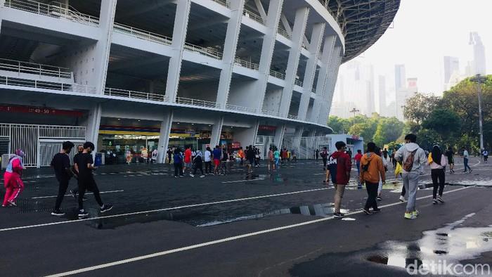 Suasana Olahraga di Kawasan GBK