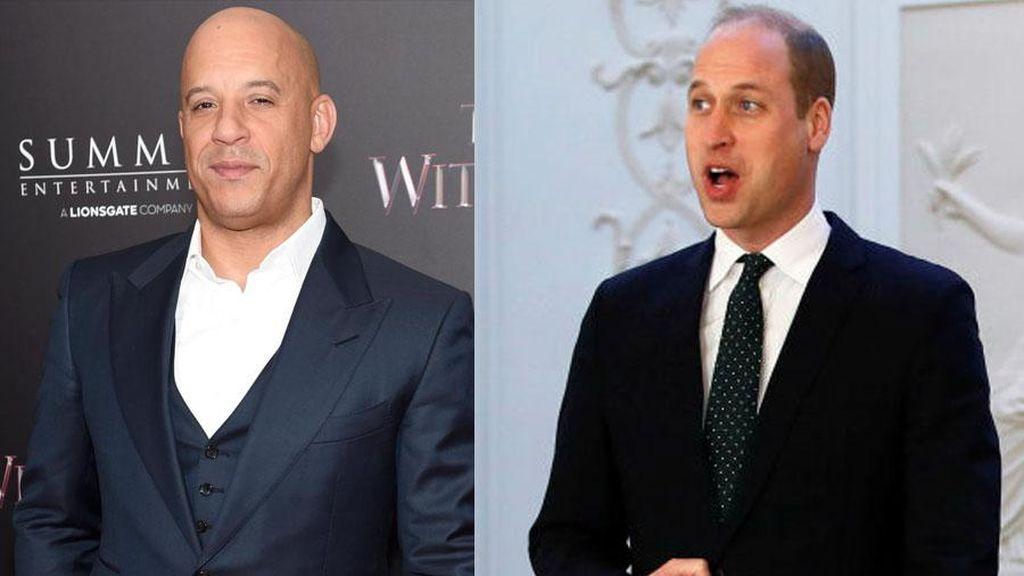 Sama-sama Botak, Ganteng Vin Diesel atau Pangeran William? Ini Hasil Risetnya
