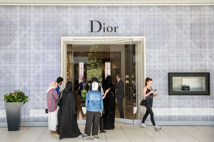 Butik Dior (Foto: Getty Images/Chris McGrath)