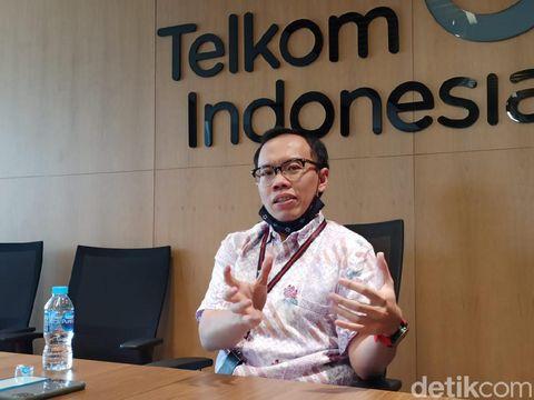 Direktur Digital Business PT Telekomunikasi Indonesia Tbk (Telkom) Muhammad Fajrin Rasyid