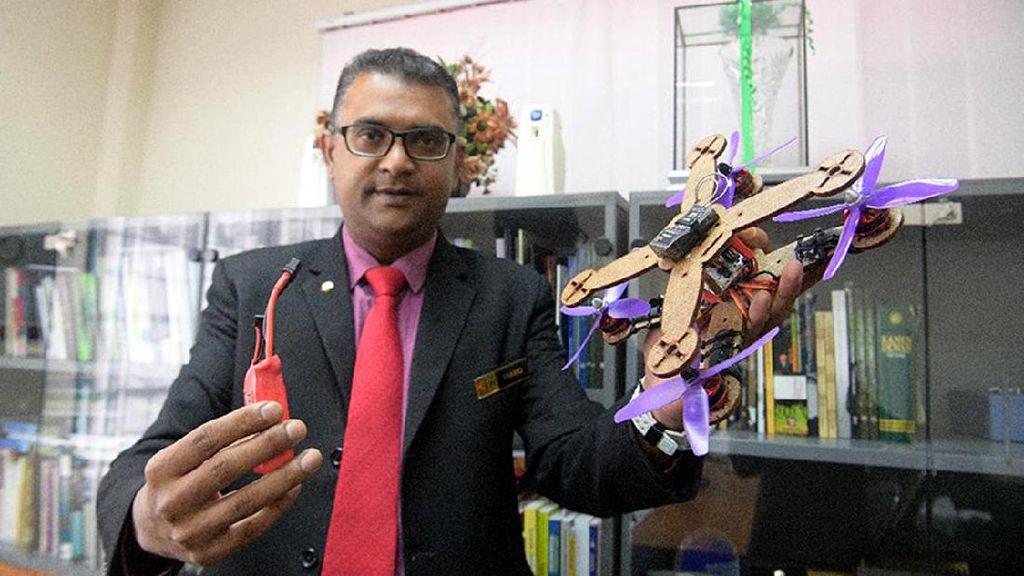 Keren! Drone Ramah Lingkungan Ini Terbuat Dari Daun Nanas