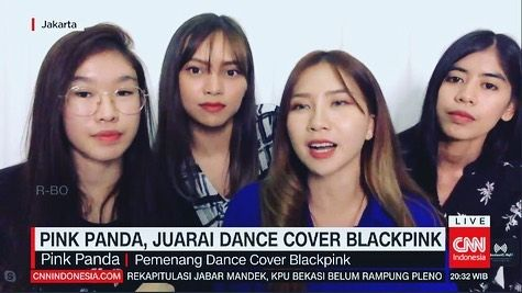 Grup Cover Dance Blackpink, Pink Panda